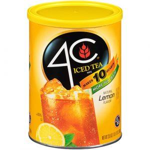 Lemon Iced Tea Mix 4c Foods