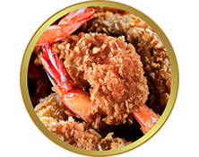 Coconut Panko Shrimp